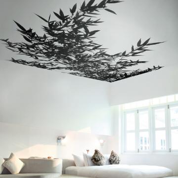 murs plafonds tendus hometis. Black Bedroom Furniture Sets. Home Design Ideas